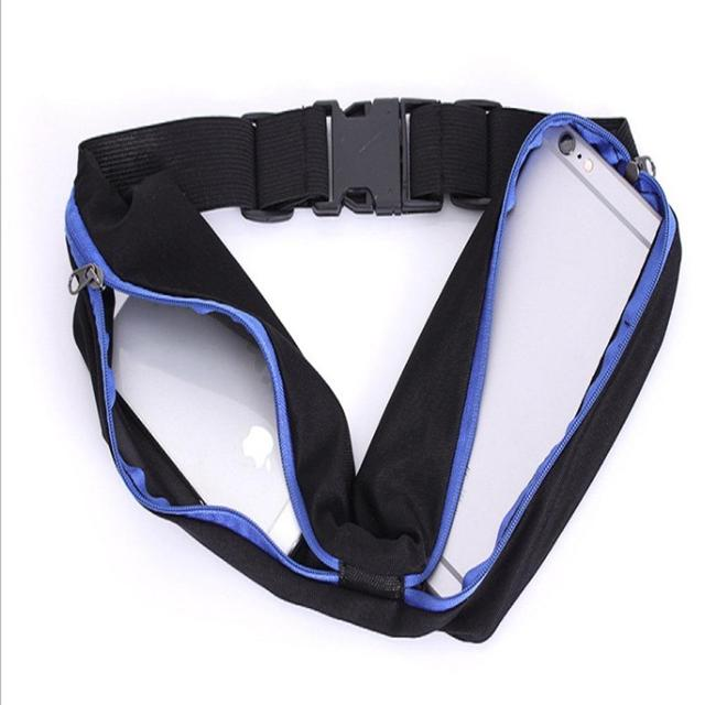 HiMISS Outdoor Sports bag Unisex Outdoor Stretch Sports Fanny Pack Anti-theft Mobile Phone Bag Lycra shell 1
