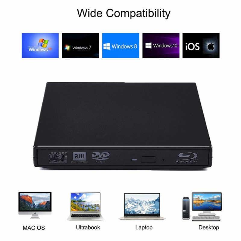 USB 2.0 External CD//DVD Drive for Acer Aspire 5253-bz400