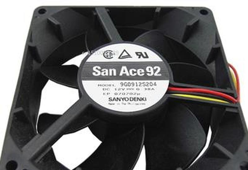 For 9G0912S204 9032 12V 0.38A 9cm 3 Line CPU Fan Free Shipping