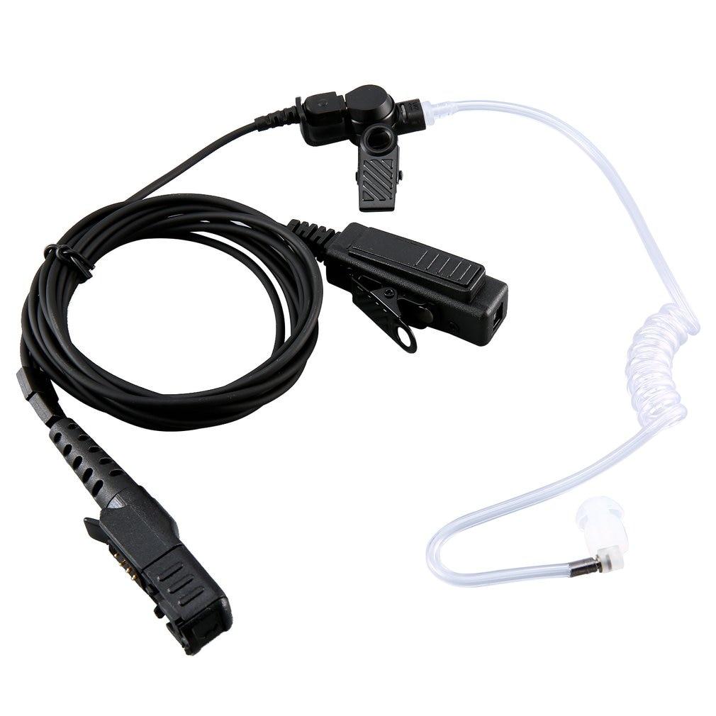 Durable Surveillance Air Tube PTT Earphone Headset Mic For Motorola DP2400 XiR P6620 Two Way Radio Walkie Talkie