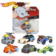Горячие колеса Дисней Классический Персонаж тема серийные автомобили Дональд Дак Микки Минни Пиноккио родители дети игрушки рождественские подарки GCK28