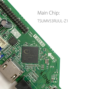 Image 3 - T.V53.03 범용 LCD LED TV 컨트롤러 드라이버 보드 TV/PC/VGA/HDMI/USB + 7 키 + 1ch 6bit LVDS 케이블 + 1 램프 인버터 러시아어 skr