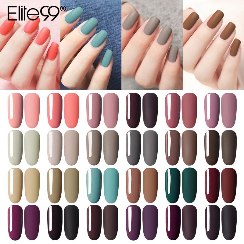 Гель-лак Elite99 для ногтей, 10 мл, уф-гель для ногтей светодиодный