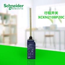 цена на Optimized button micro-motion travel switch limit switch XCKN2108P20C spring control lever 2P, 1NC+1NO quick action