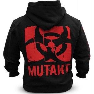 Image 3 - Mutant Mannen Winter Wol Losse Jas Singlets Sweatshirts Heren Fleece Hoodies Stringer Bodybuilding Fitness Shirts Geschikt
