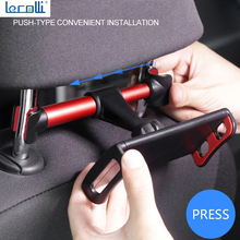 New Car Rear Tablet Computer Bracket Car Rear Pillow Bracket Rear Seat Mobile Phone Tablet Bracket Car Bracket Universal Telesco