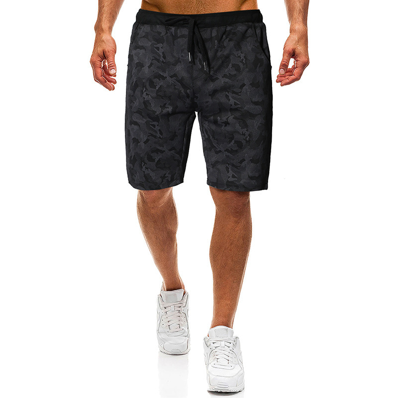 2020 Shorts Casual Pants Men Fashion Simple Versatile Harajuku Europe And America Casual Straight-Leg Shorts