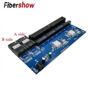 Image 5 - ギガビットイーサネットスイッチ繊維光メディアコンバータ PCBA 8 RJ45 UTP と 2 SC ファイバポート 10/100/ 1000 メートルボード PCB