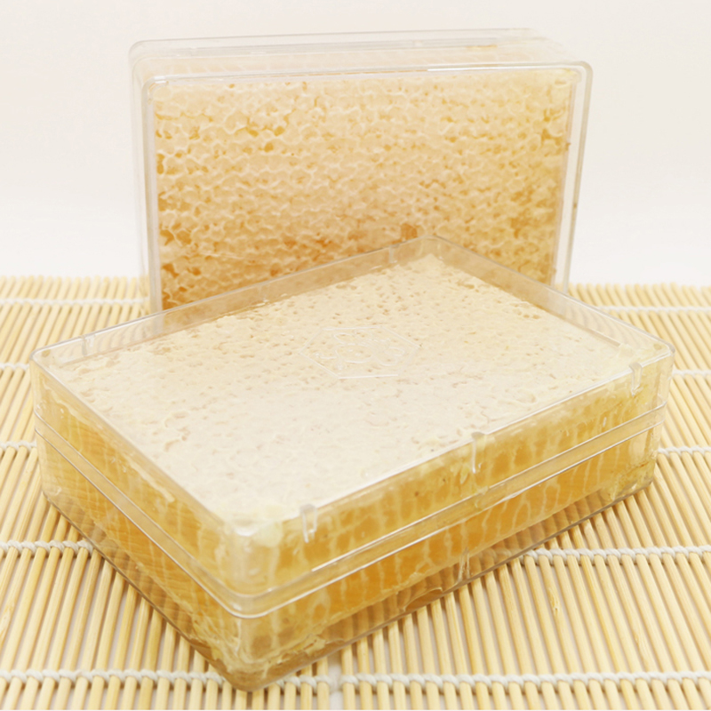 1 Pcs Beekeeping Transparent Nest Bee Honey Box 500G Honey Box Honey Nest Box Beekeeping Tool Detachable And Durable