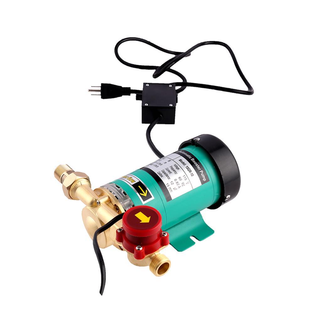 SHYLIYU Pompe de Circulation Centrale pour Syst/ème de Chauffage /à Eau Chaude Pompe de Surpresseur Eau Manuelle Pompe de Circulation /à 3 Vitesses 46//67//93W