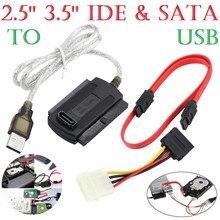 SATA/PATA/IDE zu USB 2.0 Adapter Konverter Kabel für 2,5/3,5 Festplatte DVD Schnell passt stabile verbindungen #20