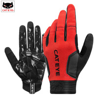 CATEYE Winter Bike Gloves Thermal Windproof Warm Full Finger Cycling Glove Anti slip Touch Screen Bicycle Gloves For Men Women