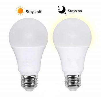 110V 220V lampka nocna zmierzch do świtu światło bezpieczeństwa E27 B22 czujnik światła LED żarówka 10W 15W automatyczne włączanie wyłączanie do wewnątrz na zewnątrz tanie i dobre opinie WCJDHXECFZN CN (pochodzenie) Żarówki 120 v Awaryjne