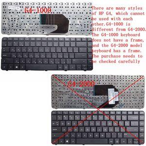 Image 4 - GZEELE russian Keyboard for HP Pavilion G43 G4 1000 G6S G6T G6X G6 1000 CQ43 CQ43 100 G57 430 SG 46740 XAA 697530 251 RU black