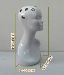 Designer Woman Head Tabletop Flower Vase