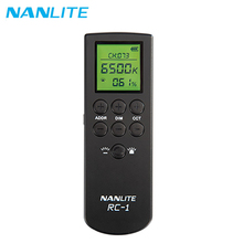 Nanlite RC 1 2.4G Wireless Remote Controller Smart dimming Nanguang Controller for 6C 60W 60B 60 Light Accessories
