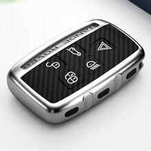 רכב מפתח מקרה עבור יגואר xf xj לנד רובר freelander 2 הגנת כיסוי אוטומטי shell במחזיק המפתחות מכונית סטיילינג אבזרים