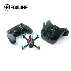 Eachine Novice-II 1-2S 2.5 Inch FPV Racing Drone RTF Fly more w/ WT8 2.4G Transmitter 5.8Ghz 40CH with VR009 Goggles Mode 2