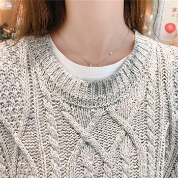 O-neck Long Knitted Women's Sweater Sleeveless Jacket Winter Warm Female Vest Korean Ruffle  For Women Fashion Loose Waistcoat 10