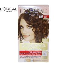 LOreal Paris Excellence Creme Pro - Keratine # 5RB Medium Reddish Brown - Warmer by for Unisex - 1 Application Hair Color