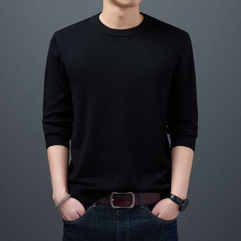 vosod Men Sweaters 2020 Autumn Winter Fashion Casual Slim Fit Cotton Knitted Mens Sweaters Pullovers Men Brand Clothing Knitwear