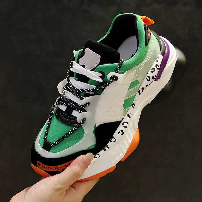 Mbr Force 2020 Vrouwen Chunky Sneakers Dikke Bodem Tennis Gevulkaniseerd Schoenen Casual Ademend Mode Vrouwelijke Sneakers