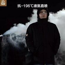 2020 youpin dmn aerogel anti-frio para baixo casaco para-196 severe severo frio nitrogênio líquido spray termostato homem inverno aerogel frio terno