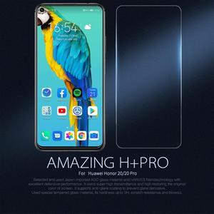 Image 2 - Huawei Ehre 20 10 Pro 9X 8X Gehärtetem Glas Mate 20 X Screen Protector Nillkin 9H Fest Klar Sicherheit glas auf Huawei P30 P20 Lite