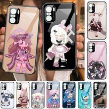 Social game Gacha Life case Phone Case For POCO F1 F2 F3 Pro X3 M3 9C 10T Lite NFC Anime Black Cover Silicone Back Prett mi 10 u