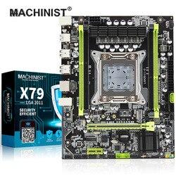 Kiểu Machin X79 Turbo Bo Mạch Chủ LGA2011 ATX USB2.0 SATA3 PCI-E NVMe M.2 SSD Hỗ Trợ DDR3 REG ECC Bộ Nhớ Và Xeon E5 bộ Vi Xử Lý
