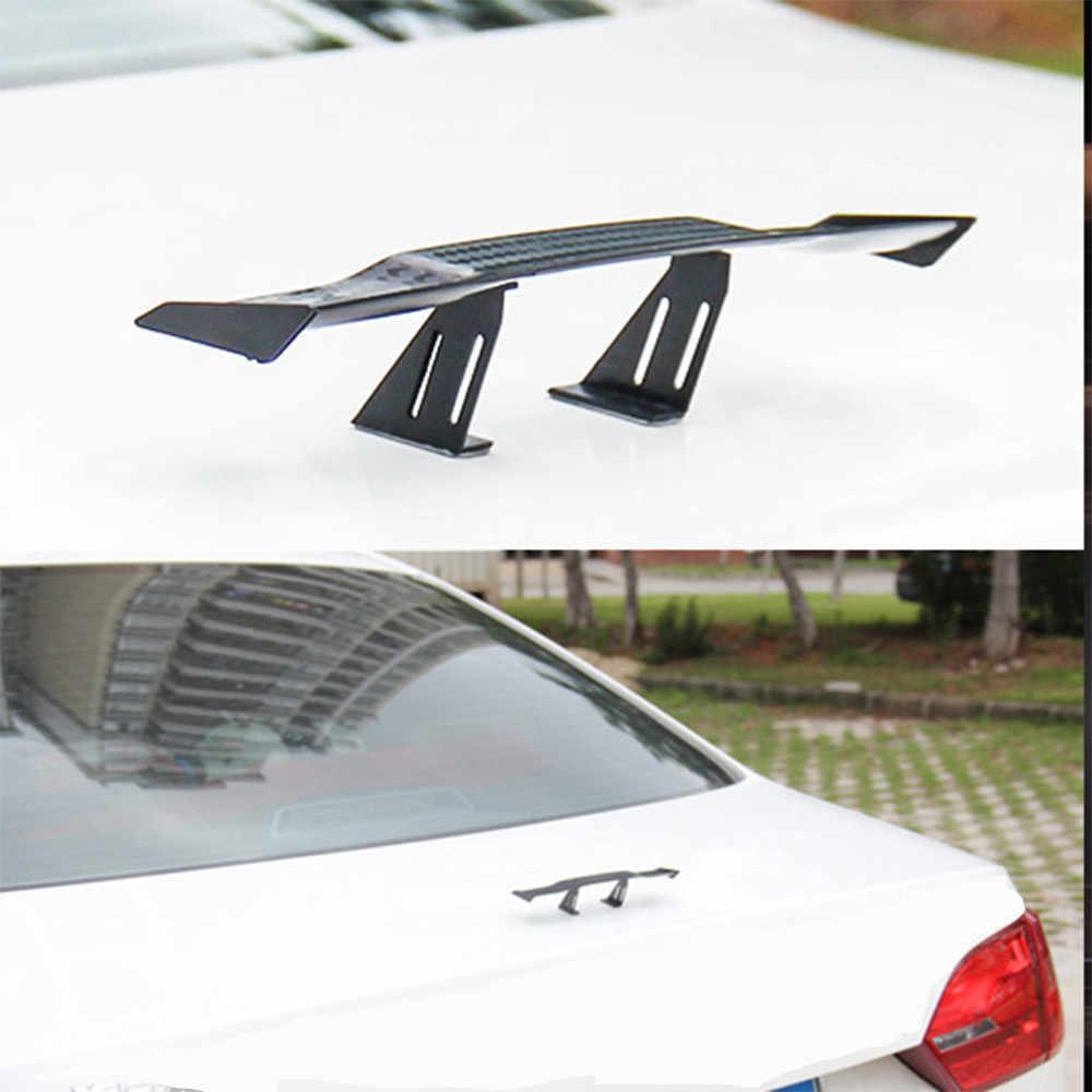 車のテール装飾、おかしい普遍的な車 Wing 安いスポイラーミニ自動繊維装飾