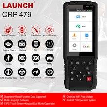 Launch  X431 CRP479 OBD2 escáner automático EPB SAS ABS DPF herramienta de diagnóstico OBD 2 para la pantalla táctil del coche OBD2 escáner de Launch