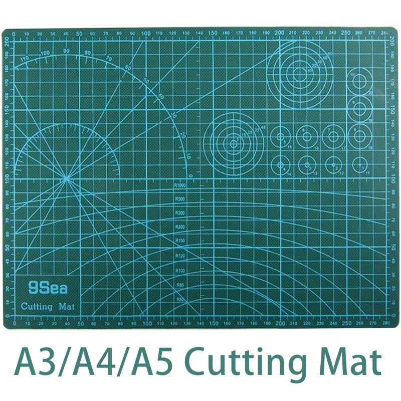 A3/A4/A5 Cutting Mat PVC Self Healing 5-Ply Patchwork Tool Non-Slip Double Sided Cutting Board For Scrapbooking,Quilting,Sewing