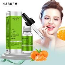 MABREM лактобионовая кислота VC Tender serum эффективно удаляет кератин и угри Repair serum Face Ance Маска для уменьшения пор уход