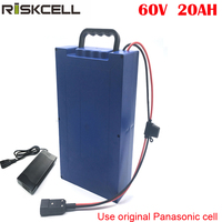 No taxes 60V 1500W electric bike battery 60v 20ah lithium battery for Harley Style Electric Vehicle