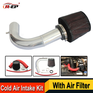 Image 1 - R EP Cold Air Intake Kit with High Flow Air Filter Fits for V W VOLKSWAGEN Golf 7 Passat Skoda Audi A3 Replacement Aluminum Pipe