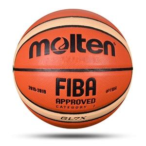 Image 3 - 新しい高品質バスケットボールボールの公式サイズ7/6/5 puレザー屋外屋内マッチトレーニング男性女性バスケットボールbaloncesto