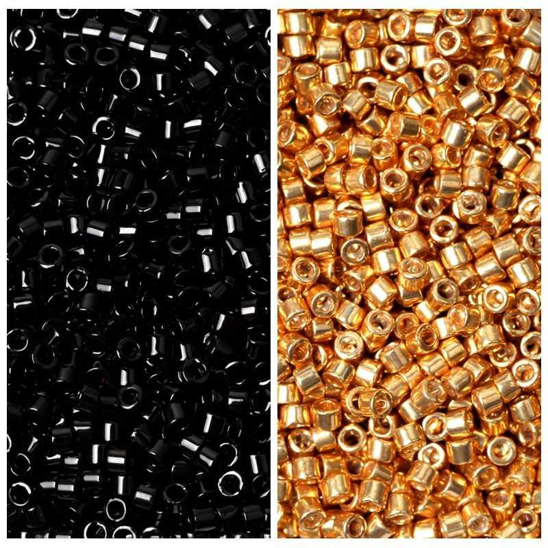 FAIRYWOO DIY תכשיטי ביצוע ערכת מיוקי חרוז בעבודת יד טבעות נשים זהב טבעת יוקרה מתנות לחברה ידידות סיטונאי