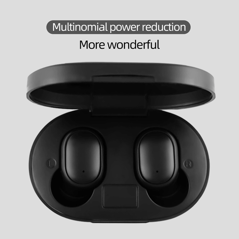 HD Tws Wireless Earphones Super Bass Bluetooth V5 0 Noise Reduction Headsets Waterproof Headphone Auto Link Earbuds AI Control