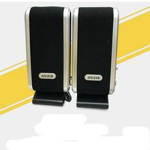 Portátil usb 2.0 power 3.5mm para computador portátil de mesa alto-falante peças de microfone de ouvido jack HY-218 mini plástico