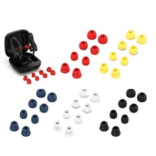 Colorful Replacement Silicone Earplug  Earbuds Ear Cap for Beats Powerbeats Pro /powerbeats3 Wireless Bluetooth Headset