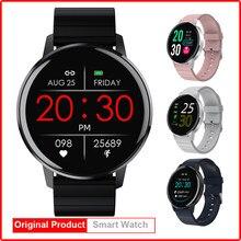 Relógio inteligente homem 1.3 full full tela cheia de toque hd ip67 à prova dip67 água reloj inteligente hombre para xiaomi huawei oppo iphone pk m31 p8 t4