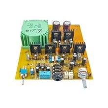 Fone de ouvido kits amplificador de fone de ouvido placa lm317 lm337 estabilização poderosa baixa frequência doce médio alta resolução