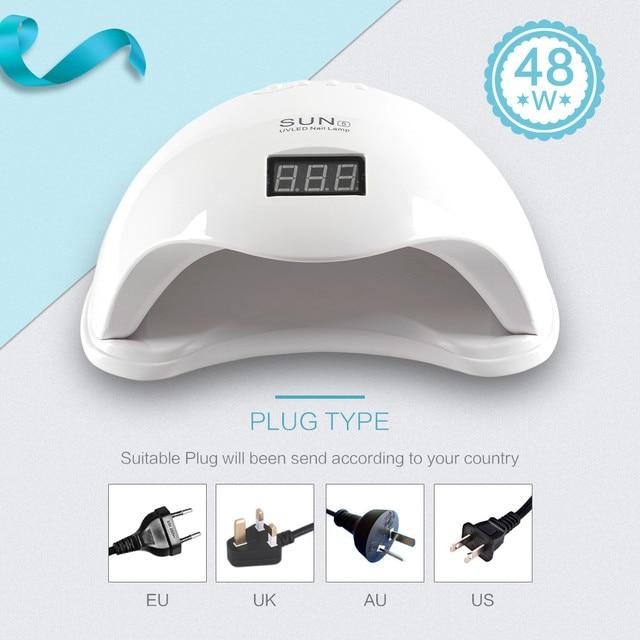 Complete Poly Gel Set With 36W UV Lamp For Nail 8ml Gel Polish Set Extension Builder Gel Kit Tools Polygel Nail Kit Manicure Set 2