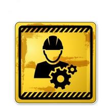 Adesivos de carro, decalques da motocicleta não toque o perigo acessórios decorativos, para cobrir à prova dwaterproof água pvc.13cm * 13cm