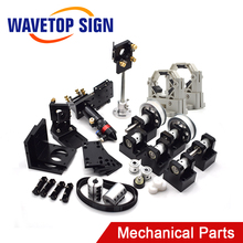 Wavetopsign CO2 Laser Metalen Onderdelen Transmissie Laser Head Set Mechanische Componenten Voor Diy CO2 Lasergravure Snijmachine