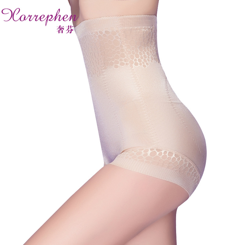 Extravagant lace ultra-thin waist body pants to mention hip plastic waist no trace after delivery belly pants