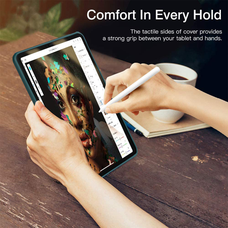 TPU Air PC Bumper iPad Protective Shockproof Ultra Thin Tablet Case Case + For 4 Hybrid
