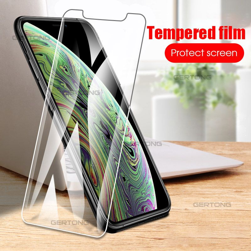 Tempered Glass For IPhone 11 Pro Max Scren Protector For IPhone Xr XS MAX X 8 7 6 Plus 8plus Protective Glass Film
