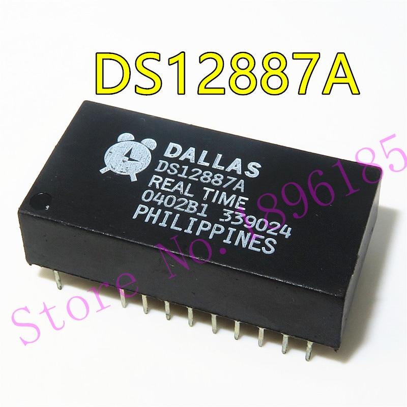 2 PCS DS12C887A EDIP-24 Real Time Clock IC RTC CLK//CALENDAR PAR